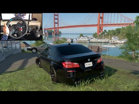The Crew 2 BMW M5 - Logitech g29 gameplay |
