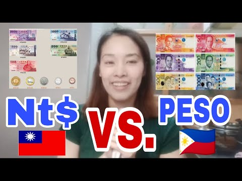 Taiwan MONEY Nt$ Vs. Php