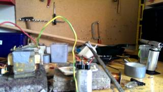 microwave capacitor discharges