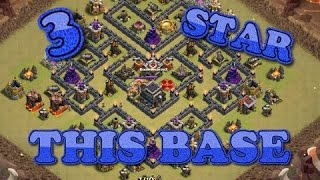 Clash Of Clans | TH9 3-Star Popular Internet - V MOAT Base RIP | GOBOHO + GOVAHO | BOMB TOWER