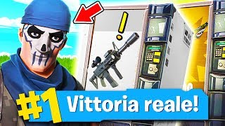 THE FIRST REAL VITTORY OF ERMAK ZANE, EPIC REACTION!! Fortnite ITA