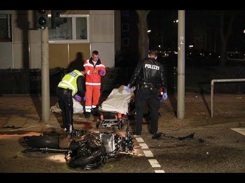 Horror-Crash in Hamburg-Wandsbek: Motorradfahrer (19) stirbt nach Zusammenstoß mit Auto