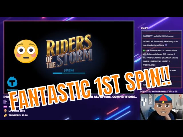 Riders of the Storm!! 1st spin!!