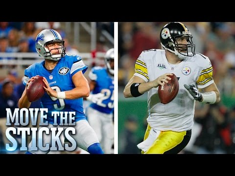 Debate! Ben Roethlisberger or Matthew Stafford: Who is More Clutch? | Move the Sticks | NFL