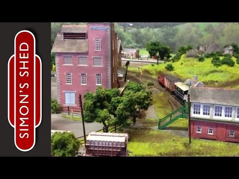 N Gauge Model Railway Layout Update: Bodenham Woods 19