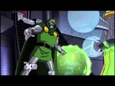 Lex Lang as Dr. Doom in Avengers Earth's Mightiest Heroes