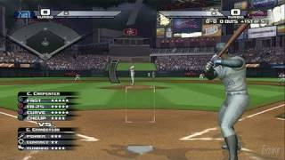 The Bigs PlayStation 3 Gameplay - Turning The Double Play