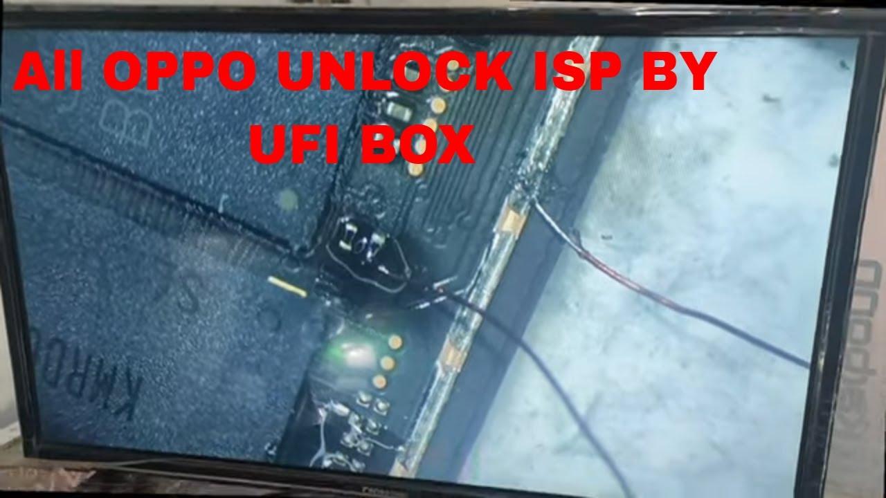 All OPPO A3s A7 A5 UNLOCK UFI BOX