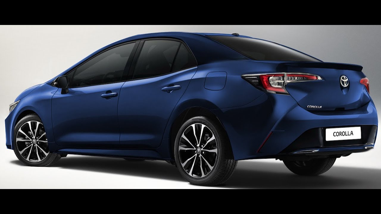 2019 Toyota Corolla Altis Imagined