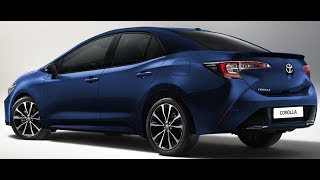 2019 Toyota Corolla Altis imagined – Rendering