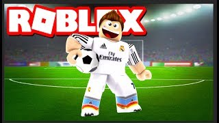 I BECOME A CRISTIANO RONALDO IN ROBLOX !! Wtf