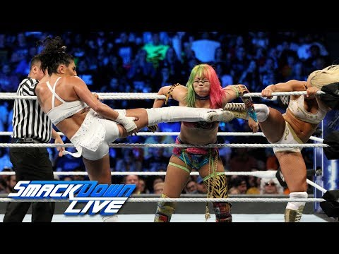 Asuka & Naomi vs Mandy Rose & Sonya Deville: SmackDown , Sept 25, 2018
