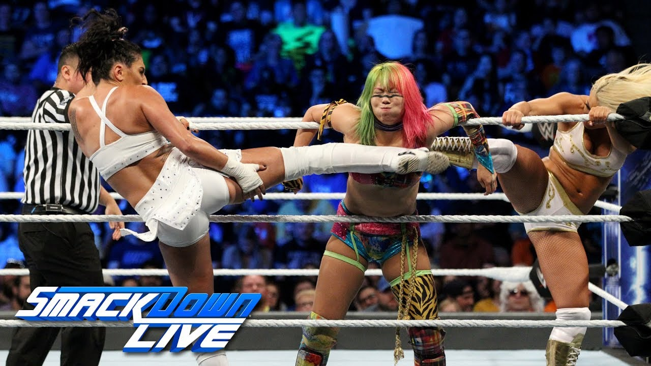 Asuka & Naomi vs. Mandy Rose & Sonya Deville: SmackDown LIVE, Sept. 25, 2018
