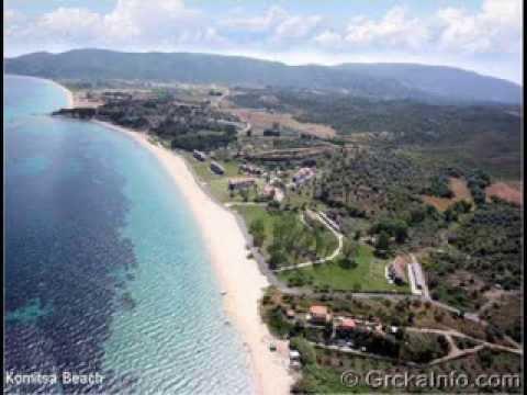 Najlepse Plaze Na Atosu Halkidiki Www Grckainfo Com Youtube