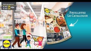 Catalogue Lidl Du 20 Au 26 Février 2019 - Monsieurechantillons.fr