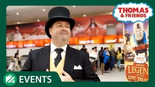 The Fat Controller Surprises Passengers at Gatwick Airport | Thomas & Friends UK