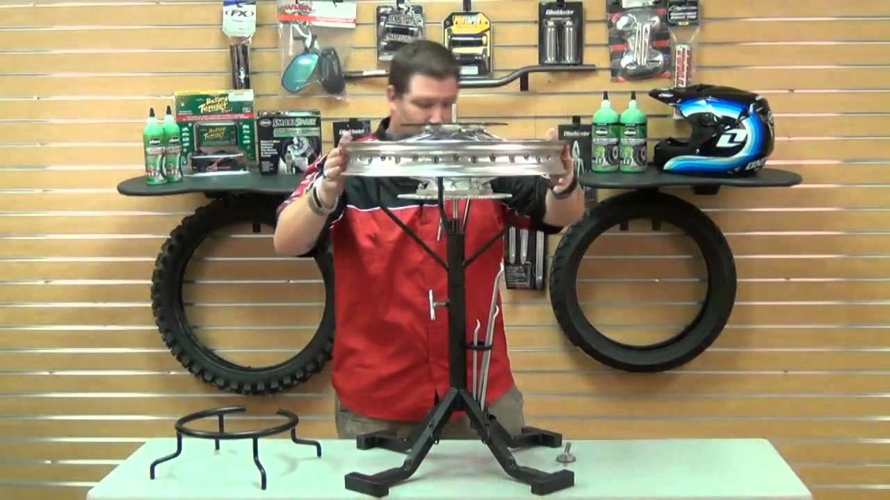 Stand Up Tire Changing Stand Review Youtube