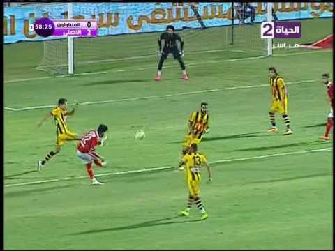 لقطة تسديدة صالح جمعة الخطيرة في القائم على المقاولون العرب HD