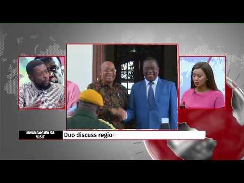 Africa Tonight: Mnangagwa makes keynote address at Zim Embassy