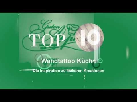 Top 10 - Alleine kochen ist langweilig! Die beliebtesten Wandtattoos für die Küche