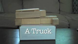Magnetic Wooden Toys From Tegu - Building A Truck