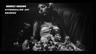 """200 HOURS HYPERREALISM DRAWING: """"Night doesn"""
