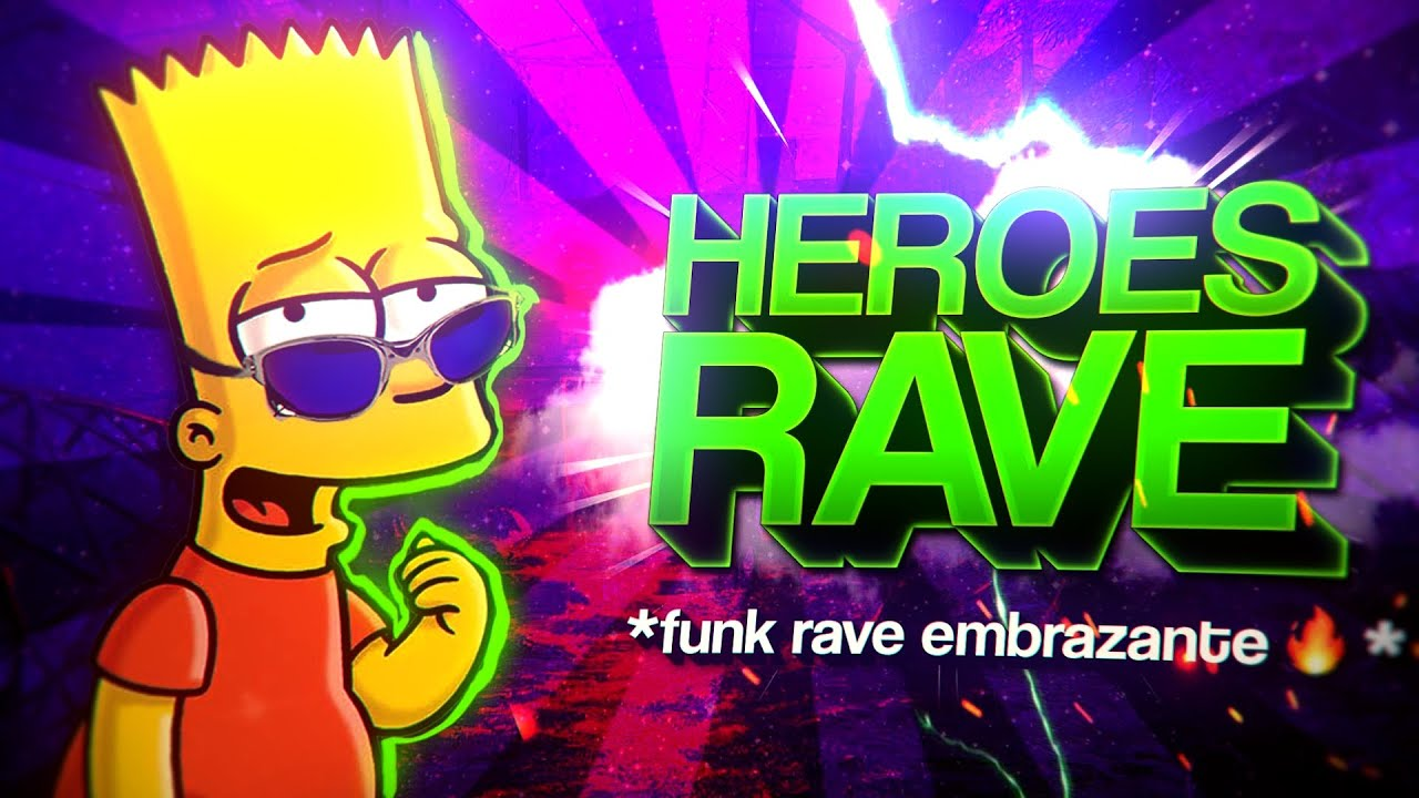 BEAT HEROES - Rave embrazante 🔥💣 (FUNK REMIX) by Canal Sr. Nescau