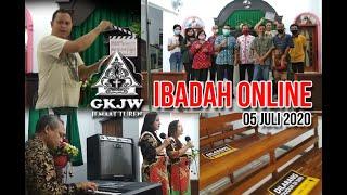 IBADAH ONLINE GKJW JEMAAT TUREN - 05 JULI 2010