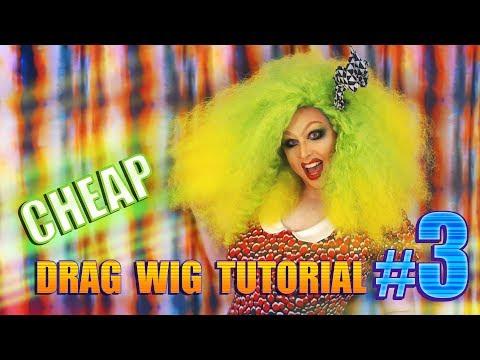 Cheap D.I.Y Drag Wig Tutorial #3 ~ Foil Curls
