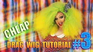 Cheap D.I.Y Drag Wig Tutorial #3  Foil Curls