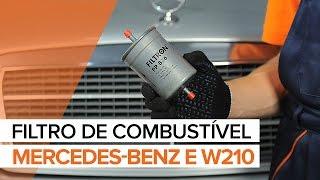 Reparar MERCEDES-BENZ Classe E faça-você-mesmo - guia vídeo automóvel