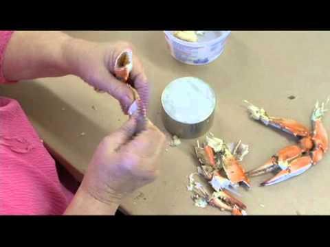 Crab Picking Demo - J.M. Clayton Seafood Company