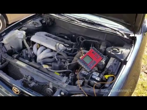 how to test an alternator (not charging from a blown fuse) mazda
