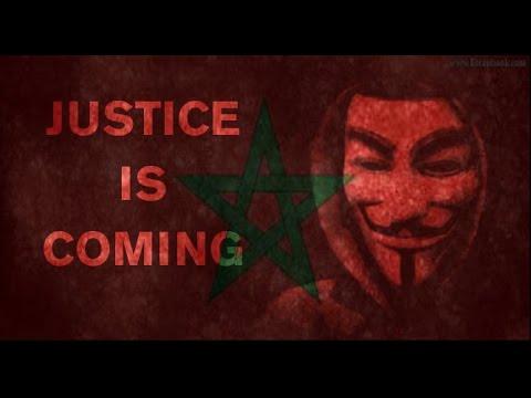 رسالة من الأخطر الأنونيموس المغرب إلى كل من يستهزء بالمغرب