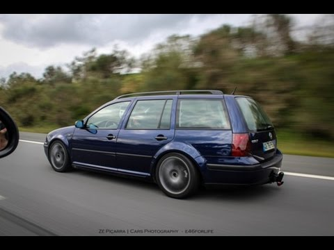 vw golf iv variant ps stance portuguese project youtube