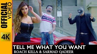 TELL ME WHAT YOU WANT  - OFFICIAL VIDEO -  ROACH KILLA & SARMAD QADEER (2019)