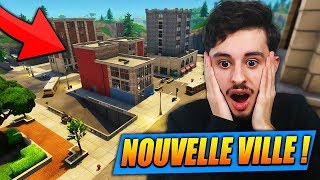 La NOUVELLE VILLE est ÉNORME sur FORTNITE: Battle Royale !! (SECRET)