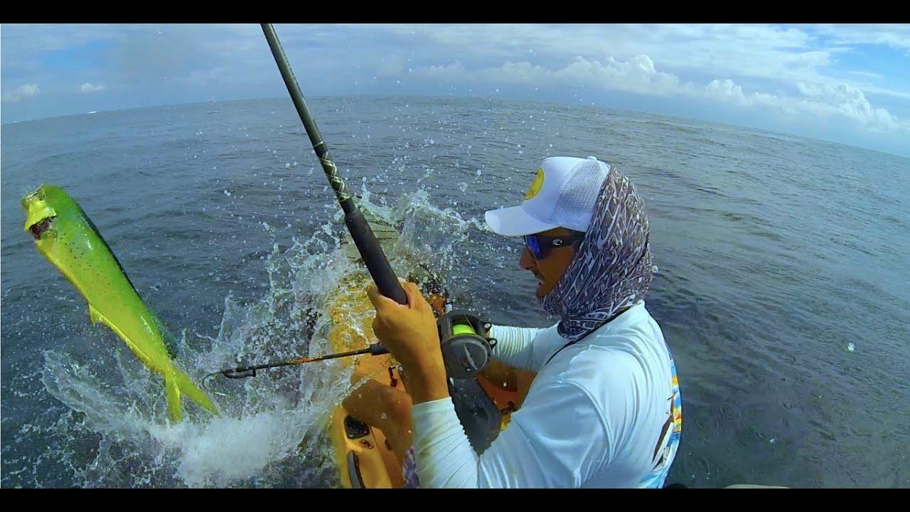 Kayak Fishing Pompano Beach Fl Two Mahis Wahoo And A Kingfish
