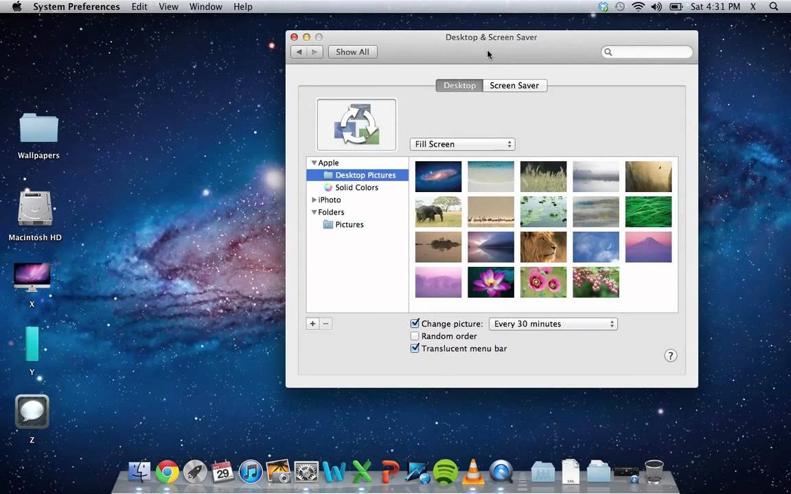 how to make program default mac
