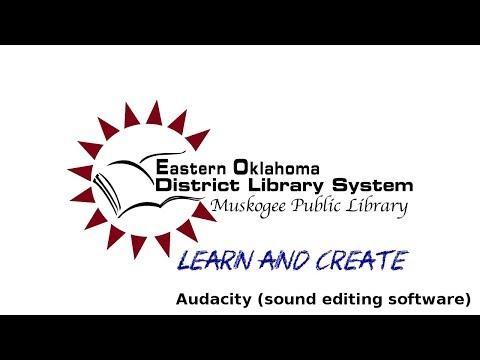 MPL Learn & Create: Audacity