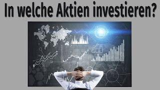 Aktien als Altersvorsorge: In welche Aktien investieren?