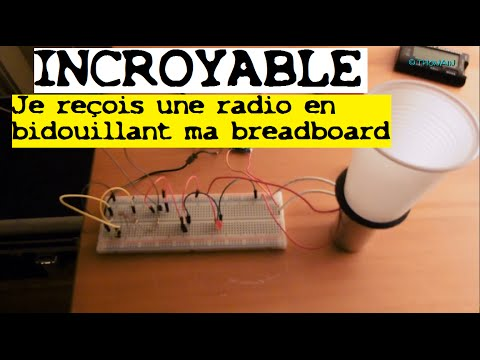 TRONIK AVENTUR N°81 - JE RECOIS UNE RADIO SANS FAIRE EXPRES EN BIDOUILLANT MA BREADBOARD