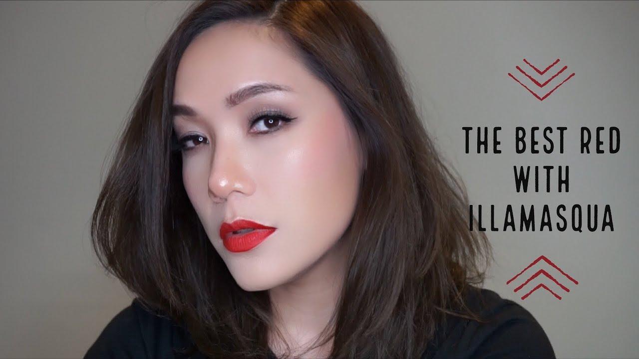 DAILYCHERIE : The Best Red with ILLAMASQUA ปากแดงไปไหนดี