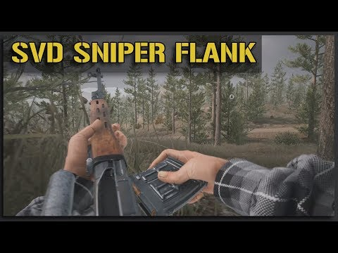 INS SVD Sniper Sneaking on the Flank - v11 Squad Gameplay