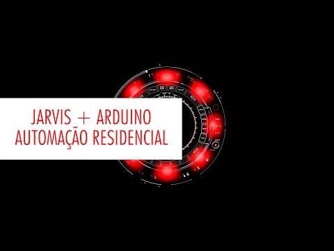 🔴⚡️ Automação Residencial com Jarvis + Arduino - Controlando minha casa por comando de voz