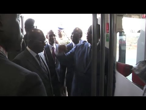 Sénégal, INAUGURATION DU TRAIN EXPRESS RÉGIONAL