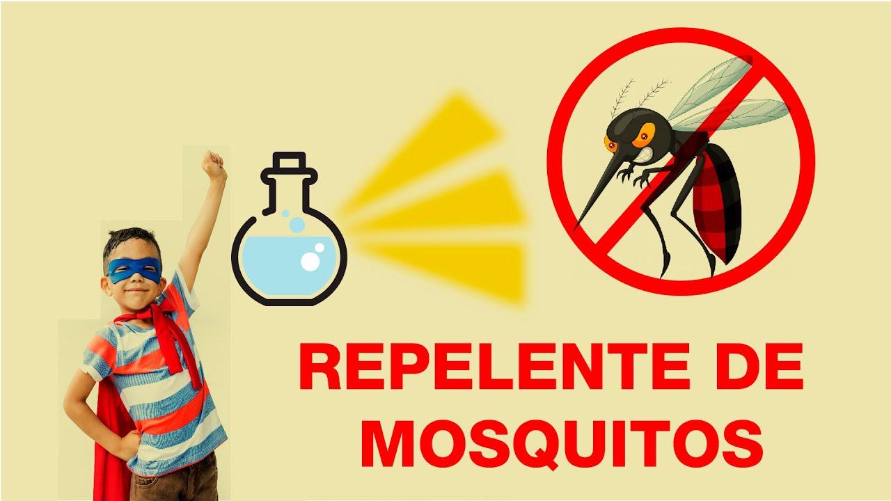 Repelente de mosquitos casero.