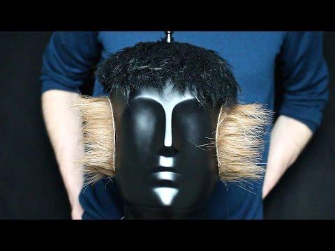 ASMR 3D Binaural Head Haircut & Earcut, Scissors, Cutting, Brushing, Hand Clipper Sounds  No Talking