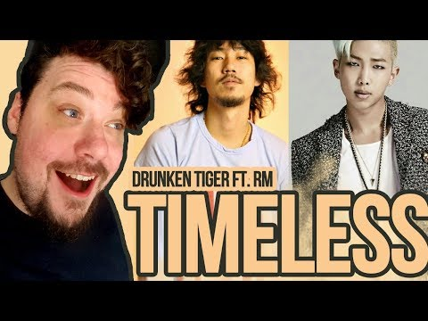 Mikey Reacts to Drunken Tiger - Timeless feat. RM of BTS