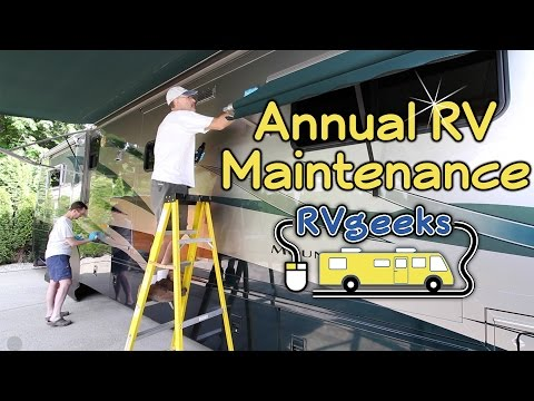 Annual RV Maintenance & Spring Cleaning